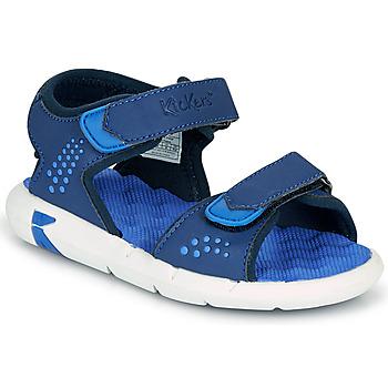 鞋子 男孩 凉鞋 Kickers JUMANGAP 蓝色