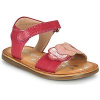 鞋子 女孩 凉鞋 Kickers DYASTAR 玫瑰色