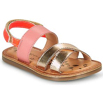 鞋子 女孩 凉鞋 Kickers DYACROSS 玫瑰色