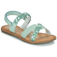 鞋子 女孩 凉鞋 Kickers DIMDAMI 蓝色