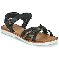 鞋子 女孩 凉鞋 Kickers BETTYL 黑色