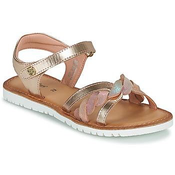 鞋子 女孩 凉鞋 Kickers BETTYL 玫瑰色