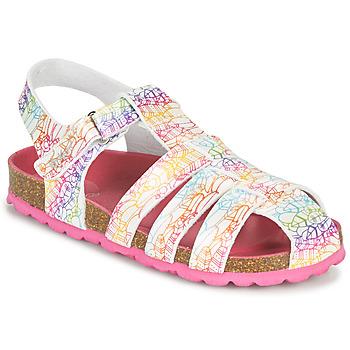 鞋子 女孩 凉鞋 Kickers SUMMERTAN 白色
