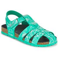 鞋子 男孩 凉鞋 Kickers SUMMERTAN 绿色