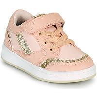 鞋子 女孩 球鞋基本款 Kickers BISCKUIT 玫瑰色