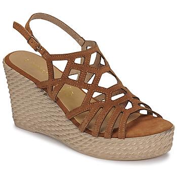 鞋子 女士 凉鞋 Marco Tozzi FRANCINE 棕色