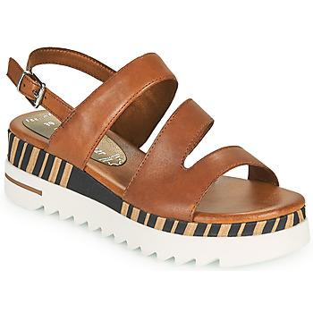 鞋子 女士 凉鞋 Marco Tozzi ANTINI 棕色