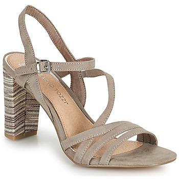 鞋子 女士 凉鞋 Marco Tozzi BALEINA 米色