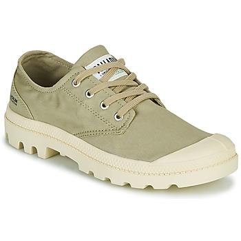 鞋子 球鞋基本款 Palladium 帕拉丁 PAMPA OX ORGANIC II 绿色