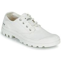 鞋子 球鞋基本款 Palladium 帕拉丁 PAMPA OX ORGANIC II 白色