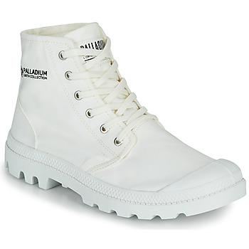 鞋子 短筒靴 Palladium 帕拉丁 PAMPA HI ORGANIC II 白色