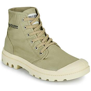 鞋子 短筒靴 Palladium 帕拉丁 PAMPA HI ORGANIC II 绿色