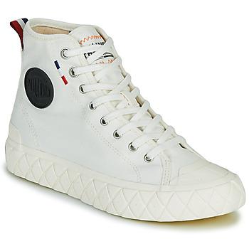 鞋子 高帮鞋 Palladium 帕拉丁 PALLA ACE CVS MID 白色