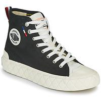 鞋子 高帮鞋 Palladium 帕拉丁 PALLA ACE CVS MID 黑色 / 白色