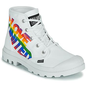 鞋子 短筒靴 Palladium 帕拉丁 PAMPA HI PRIDE 白色 / 多彩