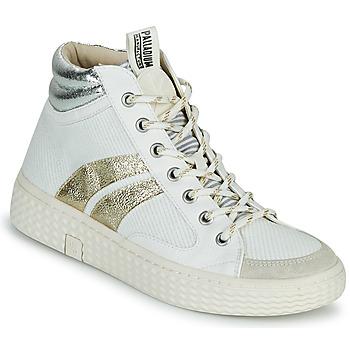 鞋子 女士 高帮鞋 Palladium Manufacture TEMPO 03 TXT 白色