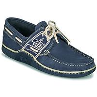 鞋子 男士 船鞋 TBS GLOBEK 海蓝色