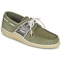鞋子 男士 船鞋 TBS GLOBEK 绿色