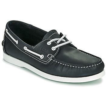鞋子 男士 船鞋 TBS PHENIS 海蓝色 / 白色
