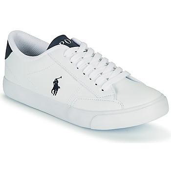 鞋子 儿童 球鞋基本款 Polo Ralph Lauren THERON IV 白色