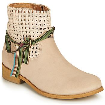 鞋子 女士 短筒靴 Felmini BRENDA 米色