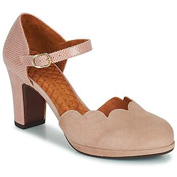 鞋子 女士 高跟鞋 Chie Mihara SELA 玫瑰色 / 米色