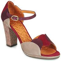 鞋子 女士 凉鞋 Chie Mihara ADAIR 波尔多红 / 米色