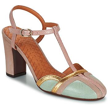 鞋子 女士 高跟鞋 Chie Mihara INMA 米色 / 玫瑰色 / 金色