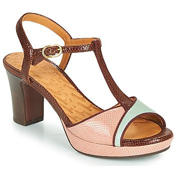 鞋子 女士 凉鞋 Chie Mihara NATI 棕色 / 玫瑰色 / 绿色