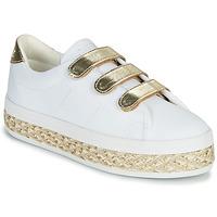 鞋子 女士 球鞋基本款 No Name MALIBU STRAPS 白色 / 金色