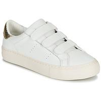 鞋子 女士 球鞋基本款 No Name ARCADE STRAPS 白色 / 米色