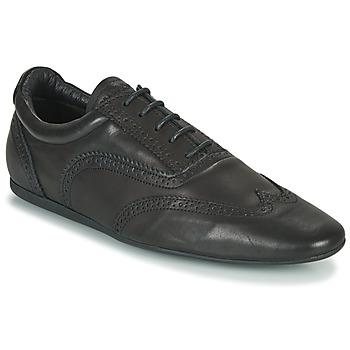 鞋子 男士 德比 Schmoove JAMAICA CORSO EASY 黑色