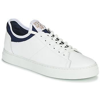 鞋子 男士 球鞋基本款 Schmoove SPARK NEO 白色 / 蓝色