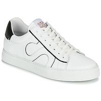 鞋子 男士 球鞋基本款 Schmoove SPARK MOVE 白色 / 黑色
