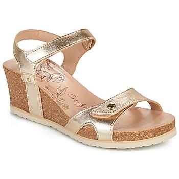 鞋子 女士 凉鞋 Panama Jack 巴拿马 杰克 JULIA SHINE 金色