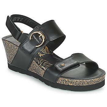 鞋子 女士 凉鞋 Panama Jack 巴拿马 杰克 VELVET 黑色