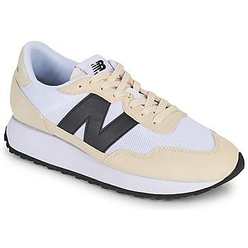 鞋子 男士 球鞋基本款 New Balance新百伦 237 白色 / 黑色