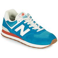 鞋子 男士 球鞋基本款 New Balance新百伦 574 蓝色 / 白色