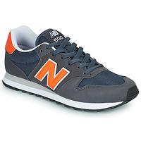 鞋子 男士 球鞋基本款 New Balance新百伦 500 蓝色 / 橙色
