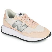 鞋子 女士 球鞋基本款 New Balance新百伦 237 玫瑰色 / 银灰色