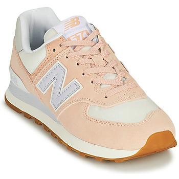 鞋子 女士 球鞋基本款 New Balance新百伦 574 玫瑰色 / 蓝色