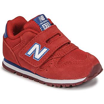 鞋子 男孩 球鞋基本款 New Balance新百伦 373 红色