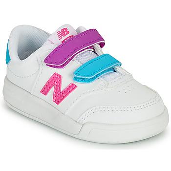 鞋子 女孩 球鞋基本款 New Balance新百伦 COURT 白色 / 玫瑰色