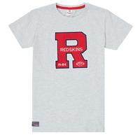 衣服 男孩 短袖体恤 Redskins TSMC180161-BLENDED-GREY 灰色