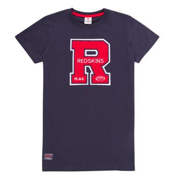 衣服 男孩 短袖体恤 Redskins TSMC180161-NAVY 海蓝色