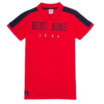 衣服 男孩 短袖保罗衫 Redskins PO180117-RED 红色