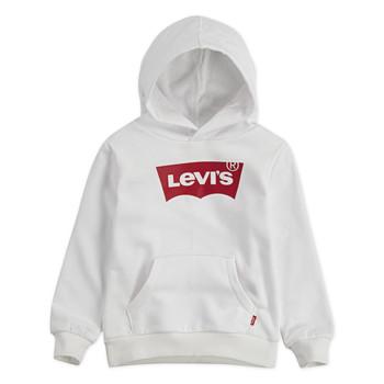衣服 男孩 卫衣 Levi's 李维斯 BATWING HOODIE 白色