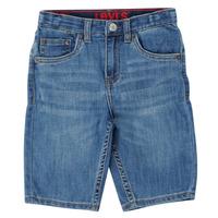衣服 男孩 短裤&百慕大短裤 Levi's 李维斯 PERFORMANCE SHORT 蓝色