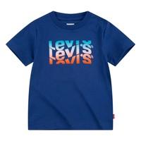 衣服 男孩 短袖体恤 Levi's 李维斯 9EC826-U29 海蓝色