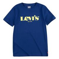 衣服 男孩 短袖体恤 Levi's 李维斯 GRAPHIC TEE 蓝色